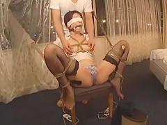Crazy Japanese slut Maki Hojo in Horny Blowjob, Solo Girl JAV movie
