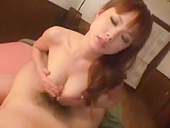 Crazy Japanese model Miriya Miyasaki in Hottest Handjobs JAV movie
