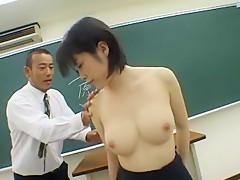 Hottest Japanese girl Kasumi Uehara in Horny Cumshots, POV JAV movie