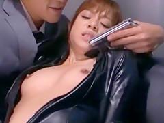 Fabulous Japanese model Shelly Fujii in Exotic Lesbian, Secretary JAV scene