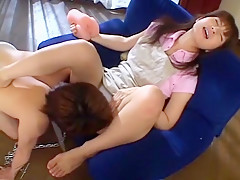 Amazing Japanese chick An Nanba in Crazy Hairy, Close-up JAV scene