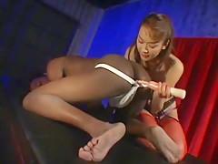 Amazing Japanese slut Izumi Hasegawa in Hottest Femdom, Interracial JAV scene