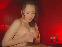 Hottest Japanese girl Azusa Nagasawa in Horny Blowjob, Handjobs JAV movie