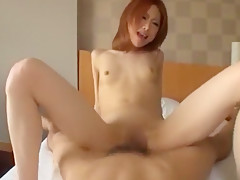 Hottest Japanese chick Mako Yuki in Exotic Blowjob, Facial JAV movie