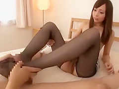 Best Japanese chick in Exotic Small Tits, Stockings JAV clip
