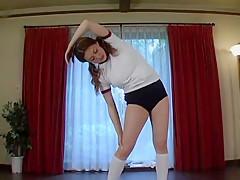 Hottest Japanese model Yumi Kazama in Crazy Sports JAV clip