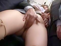 Incredible Japanese whore Haruka Koide in Fabulous Fingering, Voyeur JAV clip