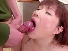 Incredible Japanese chick Reiko Shimura in Exotic JAV uncensored Group Sex movie