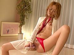 Incredible Japanese girl Rei Miyakawa in Exotic JAV uncensored Shaved movie