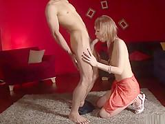 Exotic Japanese slut Rina in Horny JAV uncensored Cumshots clip
