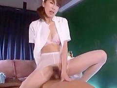 Incredible Japanese chick Karera Ariki, Mint Suzuki in Best Handjobs, Medical JAV scene