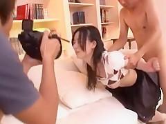 Hottest Japanese model Seira Mizushiro in Exotic JAV scene