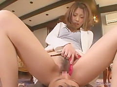 Amazing Japanese girl Reira Amane in Exotic Stockings, Blowjob JAV video