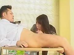 Best Japanese girl Rei Kitajima in Amazing Big Tits, Blowjob JAV clip