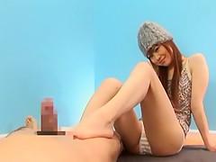 Best Japanese model Mahiru Hino in Horny Facial, Blowjob JAV clip