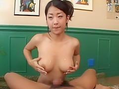 Crazy Japanese whore Satomi Suzuki in Exotic Big Tits, POV JAV scene