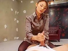 Exotic Japanese whore Risa Murakami in Hottest Handjobs, POV JAV scene