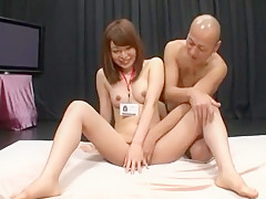 Horny Japanese whore Aya Sakurai in Exotic Dildos/Toys, Cunnilingus JAV movie
