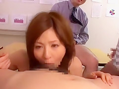 Fabulous Japanese chick Kuroki Ichika in Best Facial, BDSM JAV video