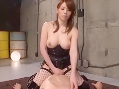Horny Japanese chick Maki Koizumi in Exotic Cunnilingus, Big Tits JAV movie
