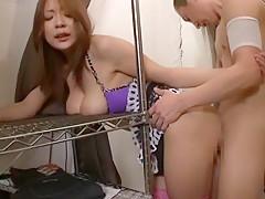 Amazing Japanese slut Marina Morito, Ai Naoshima, Karin in Best Handjobs, Blowjob JAV scene