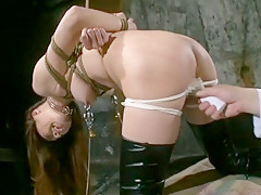 Fabulous Japanese model Maki Mizusawa, Reika Saijo, Anri Hoshizaki in Amazing Cumshots, Stockings JAV clip