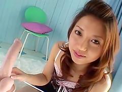 Fabulous Japanese slut Yuuna Takizawa in Amazing Blowjob, Masturbation JAV scene