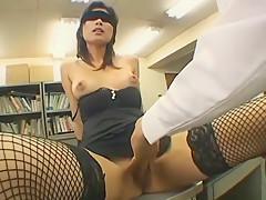 Crazy Japanese chick Rin Suzuka in Amazing Stockings, POV JAV video