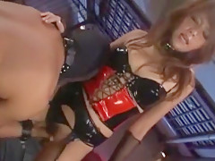 Crazy Japanese whore Akiho Yoshizawa, Azumi Harusaki, Risa Tsukino in Best BDSM, Stockings JAV movie