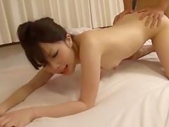 Fabulous Japanese model Kyouko Maki, Aiko Hirose, Azusa Kato in Best Office JAV video