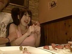 Horny Japanese chick Yuu Shinoda in Amazing JAV clip