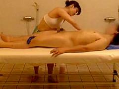 Hottest Japanese chick Rina Himekawa, Yuna Hoshi in Crazy Shower, Massage JAV clip