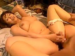 Horny Japanese slut Ryoko Murakami in Crazy Couple, Cumshot JAV movie