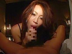 Best Japanese slut Emi Haruna, Ren Hitomi, Misaki Asoh in Fabulous Ass, Stockings JAV clip