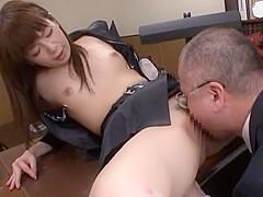 Amazing Japanese whore Riri Kuribayashi in Fabulous Cunnilingus, Couple JAV scene