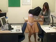 Best Japanese whore Rin Yamaki, Kana Mimura in Exotic Fetish, Office JAV scene